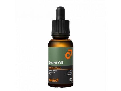 beviro beard oil olej na vousy bergamia wood 01