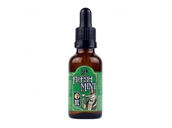 hey joe beard oil fresh mint