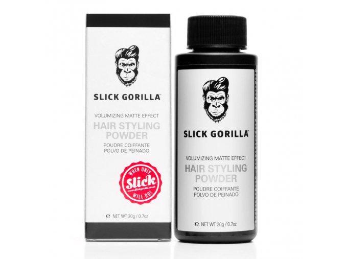 gorrila hair styling powder