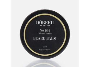 Noberu beard balm tobacco Vanilla