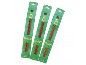 Pony ponožkové bambusové jehlice 15cm