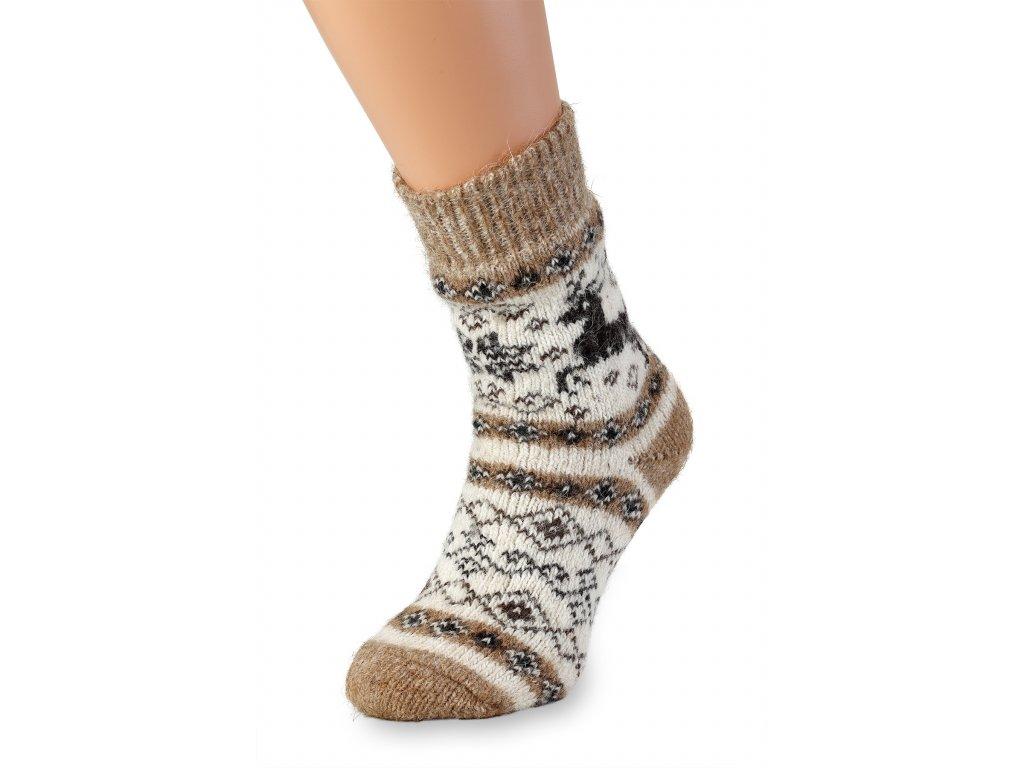 ponožky měkká vlna