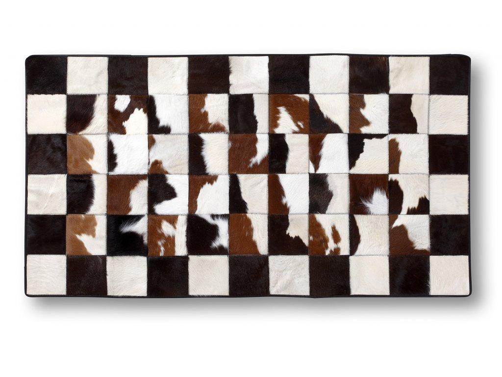 koberec z kůže skotu