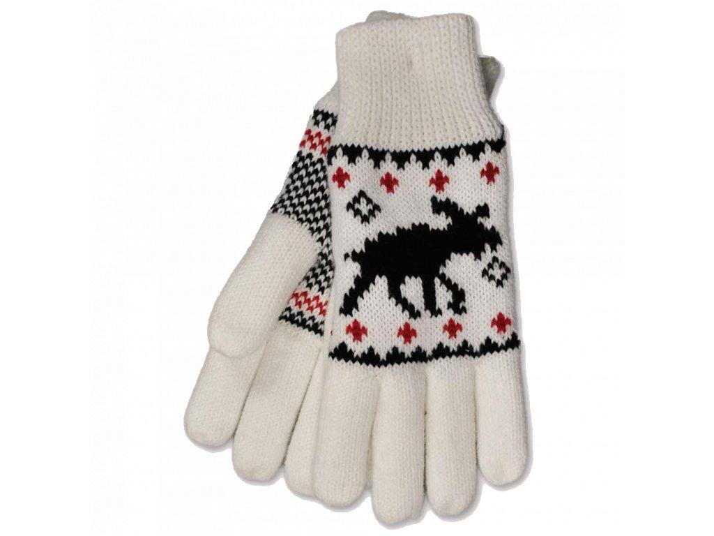 elg pletene rukavice s losem bile.jpg