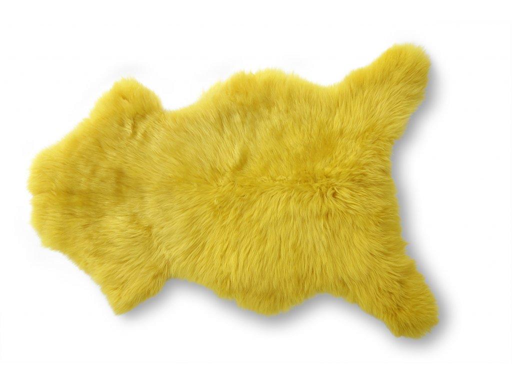 ovčí kožešina žlutá (3)