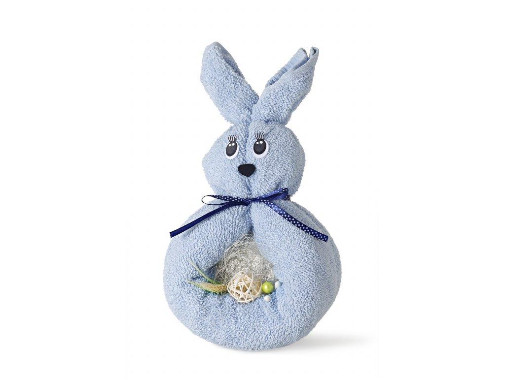 králíček modrý s mašlí (2)