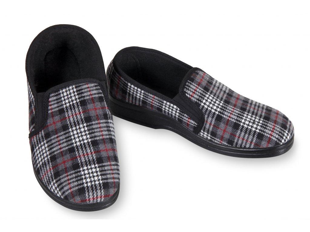 kotníkové pantofle