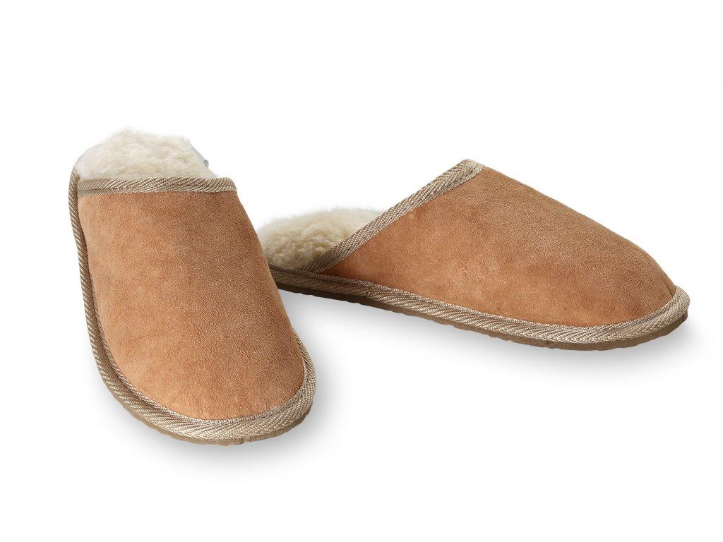 Pánské kožené pantofle Exclusive