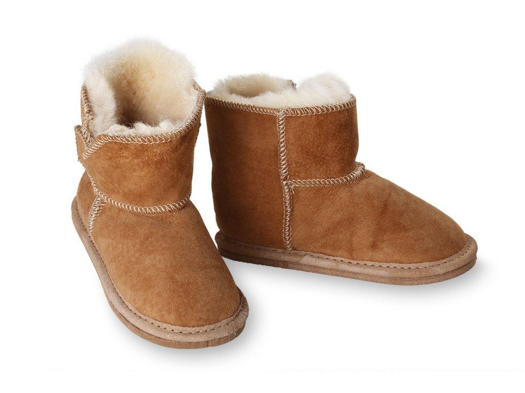 Dětske kožene boty Exclusive