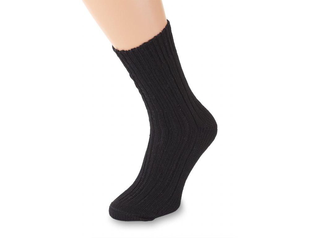 Ponožky Merino, černé (2)