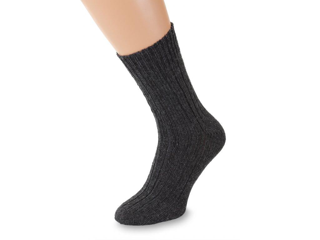 Ponožky Merino, šedé
