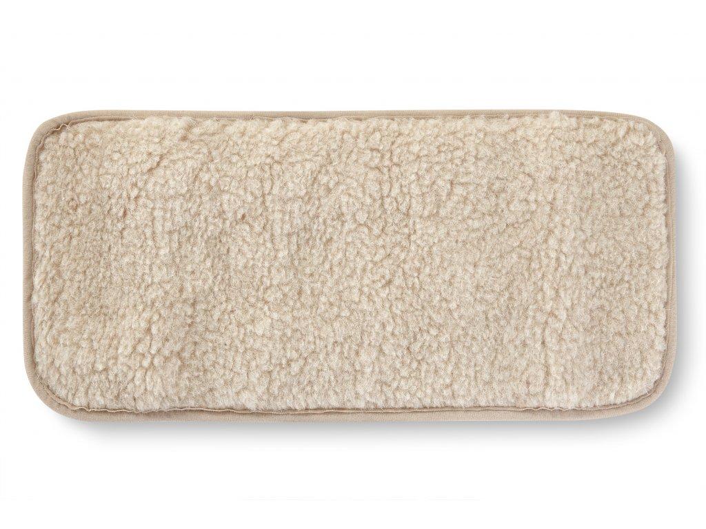 Ledvinový pás, european merino, béžovo bílý