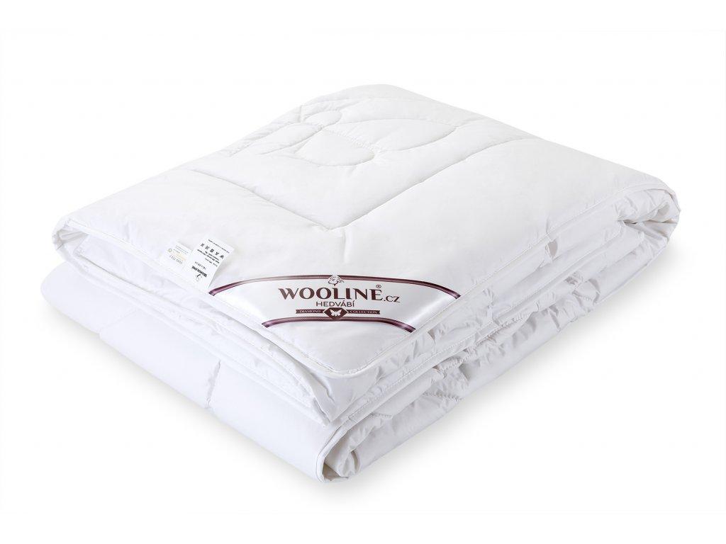 Přikrývka Wooline 140x200cm, výplň hedvábí (2)