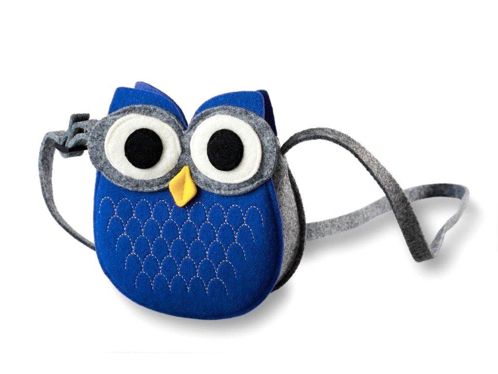 filcová kabelka sovička (3)