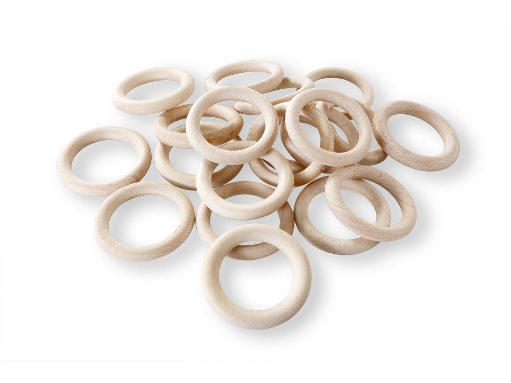 dřevěné kroužky surové (2)