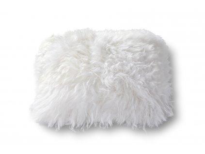polštář z ovčích kůží s výplní z vlny