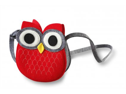 filcová kabelka sovička (2)