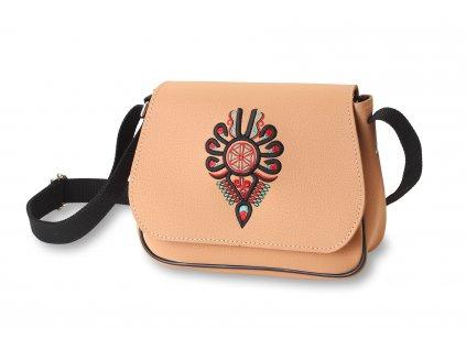 kabelka imitace kůže s ornamentem