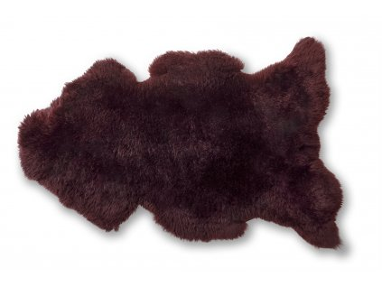 ovčí kožešina bordó (4)