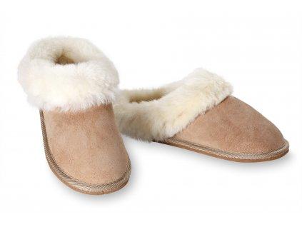 Dámské kožené pantofle Exclusive