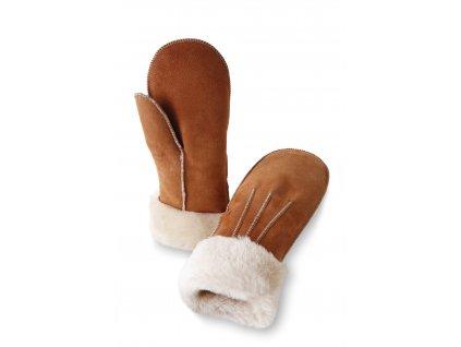 rukavice kožené dámské s kožešinou