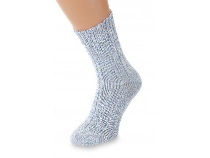 Ponožky Merino, modré
