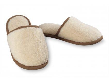Papuče camel, béžová (2)