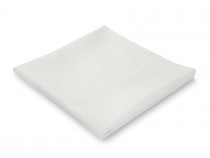 jemný ručník, bílý