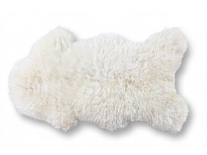 Ovčí kůže bílá MAXI EXCLUSIVE 125 x 80 cm
