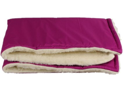 zimni deka merino fialova 11556