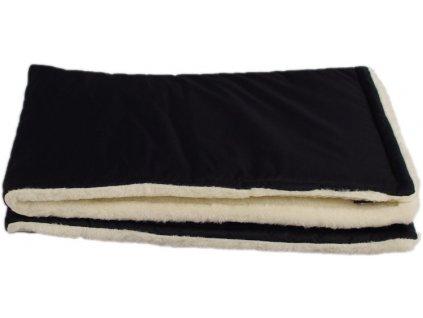 zimni deka merino cerna