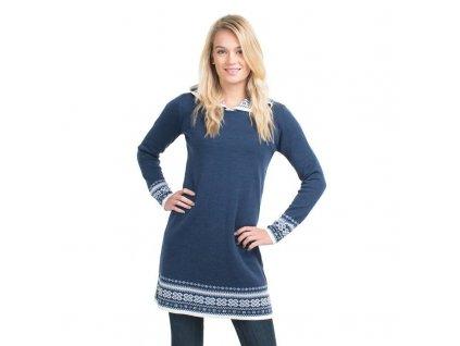 vlněné dámské šaty