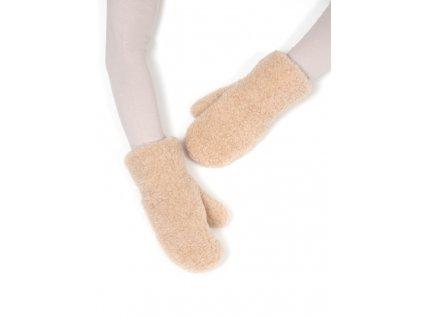 teplé vlněné rukavice