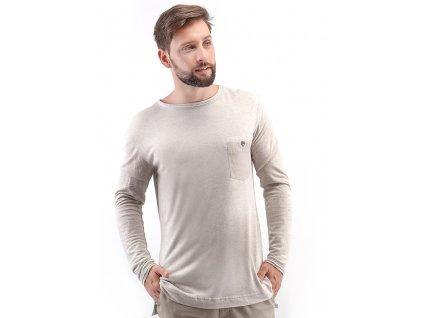 TRIČKO s dlouhým rukávem blouser