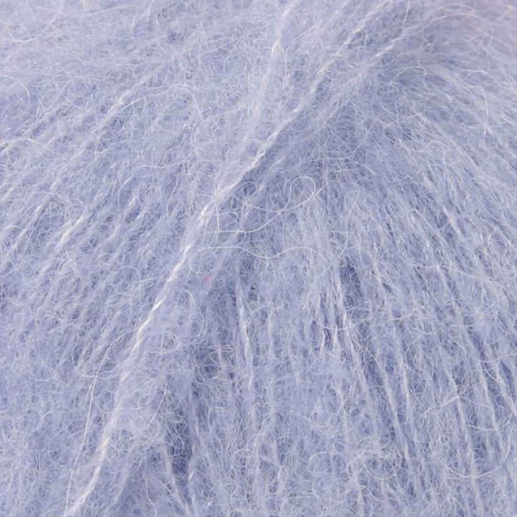 Brushed Alpaca Silk 17 - světlá levandulová