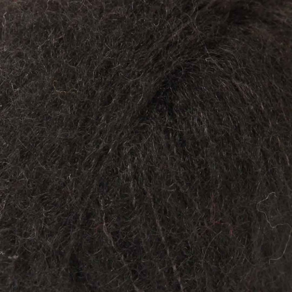 Brushed Alpaca Silk 16 - černá