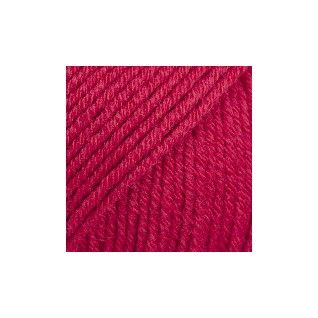 Drops Cotton Merino 06 - červená