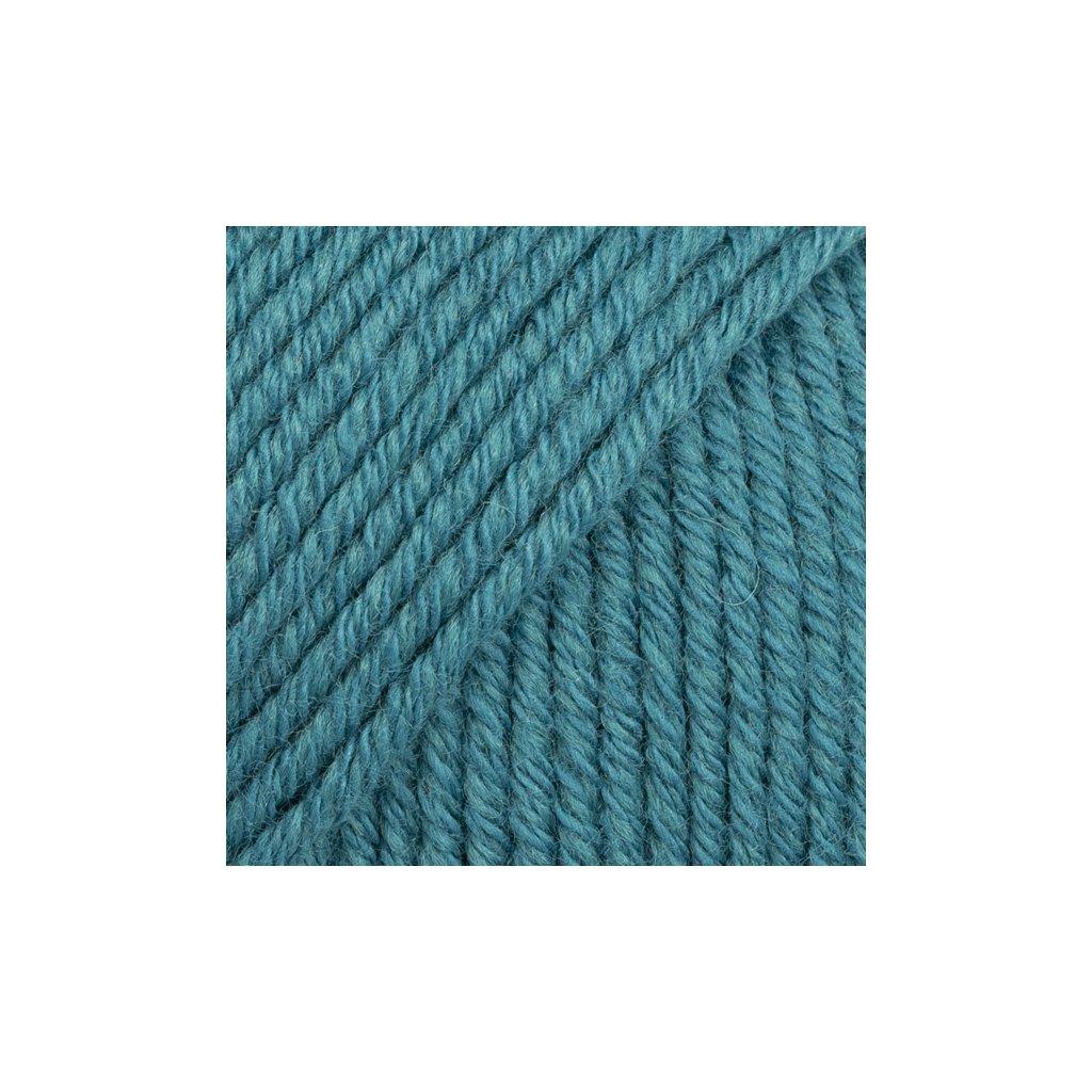 Drops Cotton Merino 26 - potrolová modrá