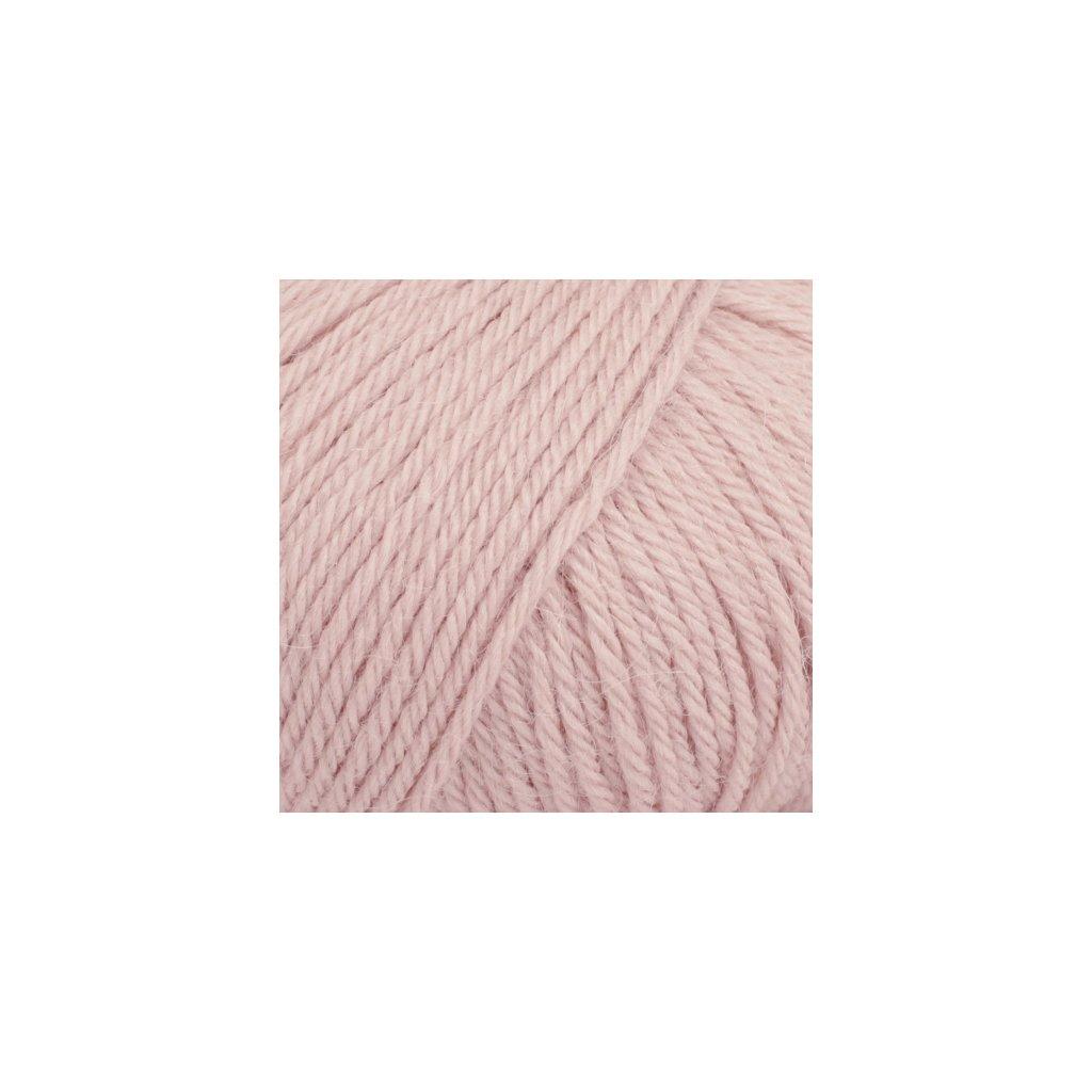 Drops Puna UNI 09 - pudrově růžová