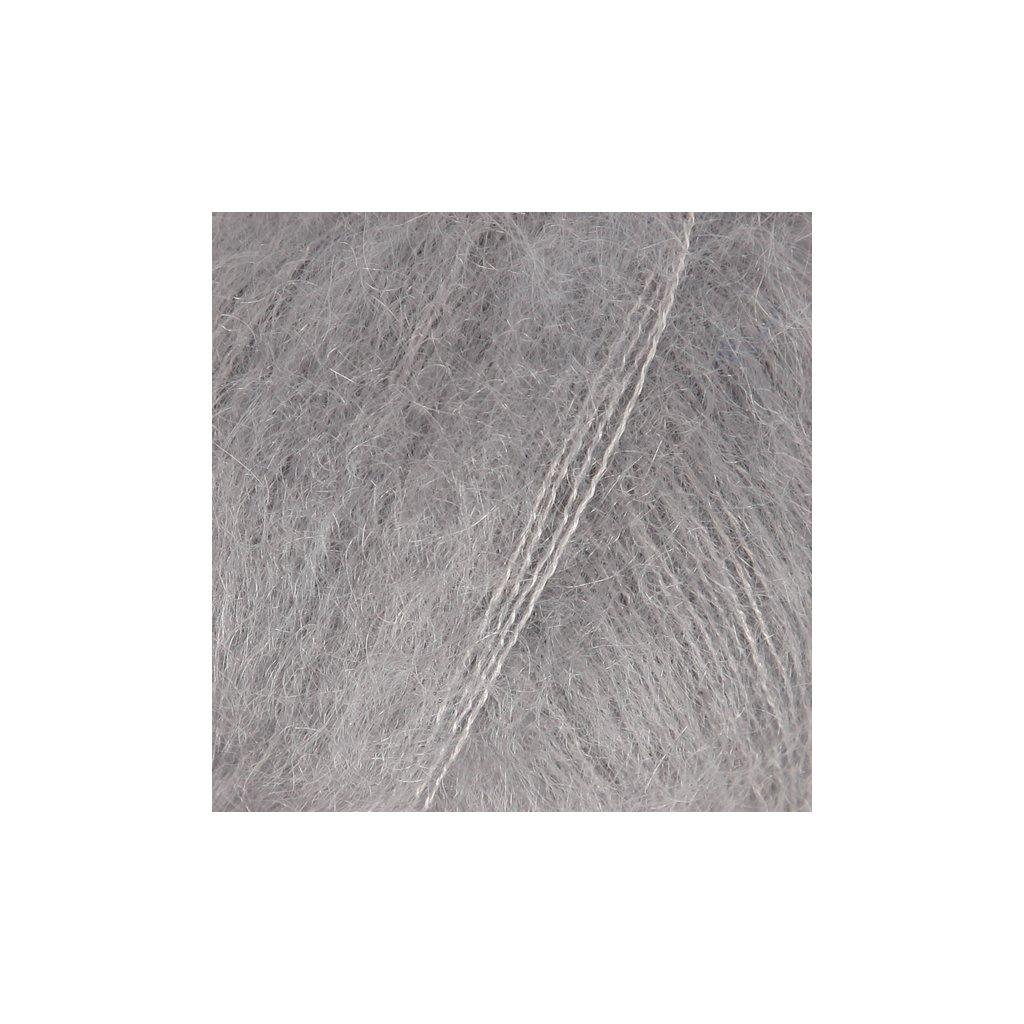 Drops Kid-Silk 10 - šedá