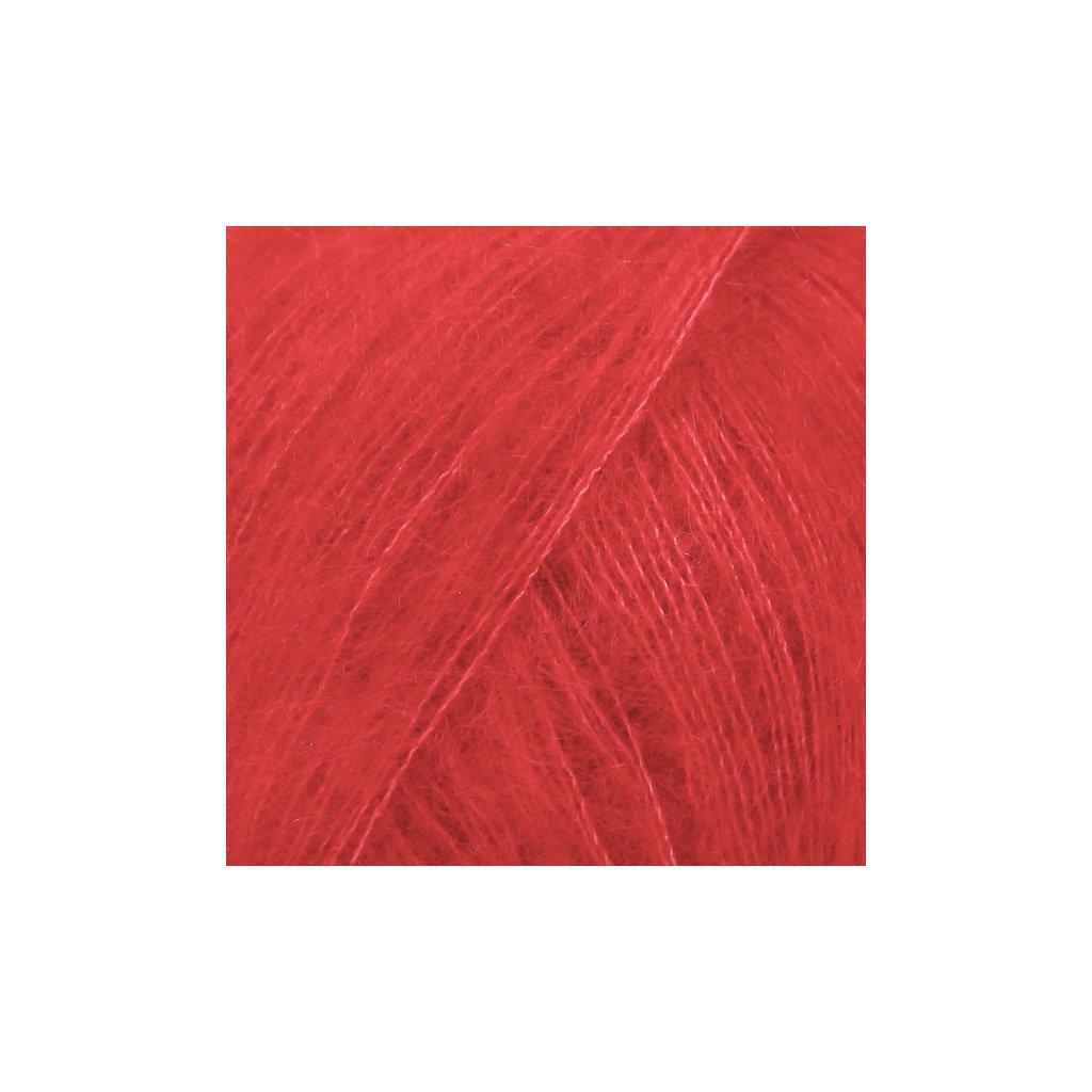 Drops Kid-Silk 14 - červená