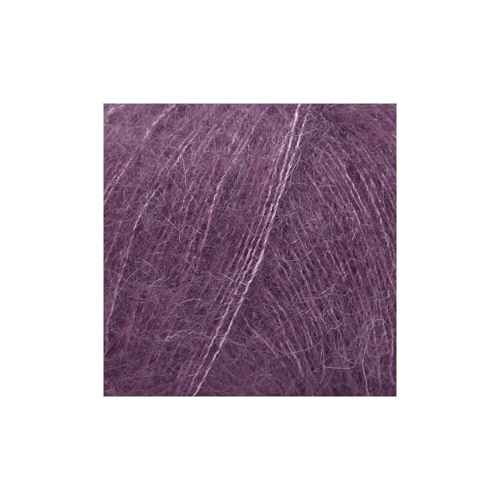 Drops Kid-Silk 16 - tmavá fialová