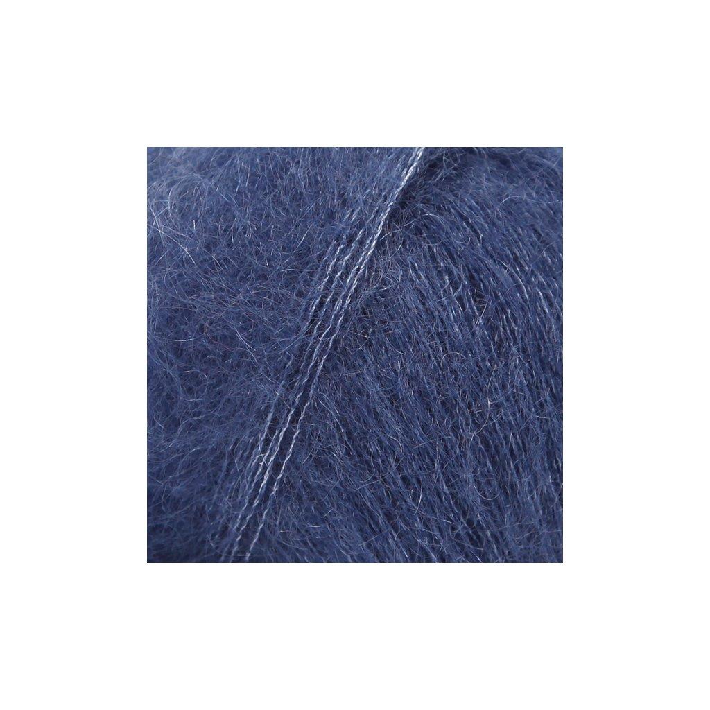 Drops Kid-Silk 28 - navy modrá
