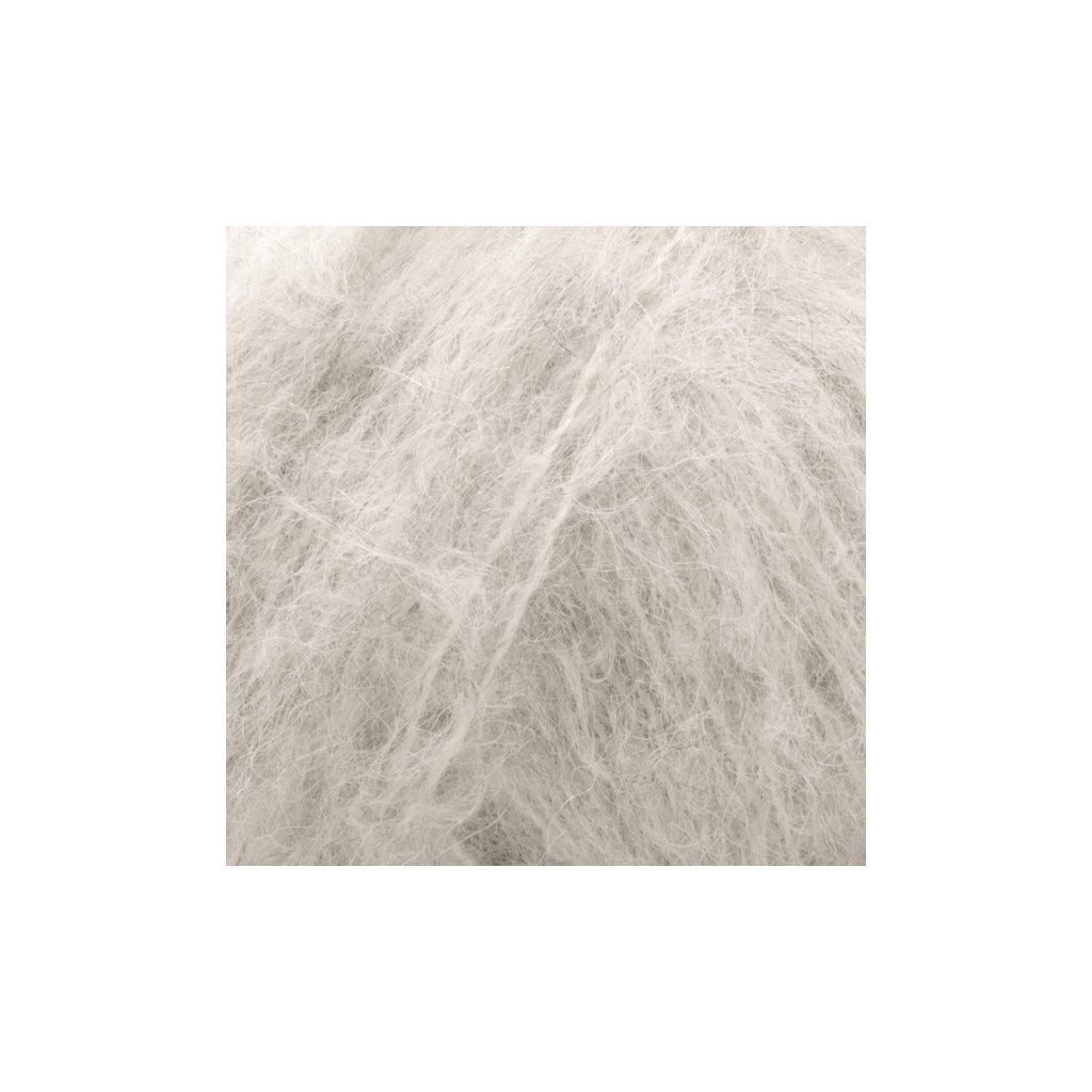 Drops Melody 03 - perlově šedá