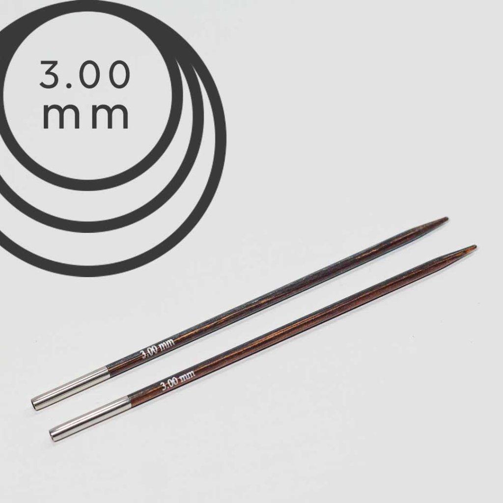 Jehlice kruhové výměnné 3.00 mm