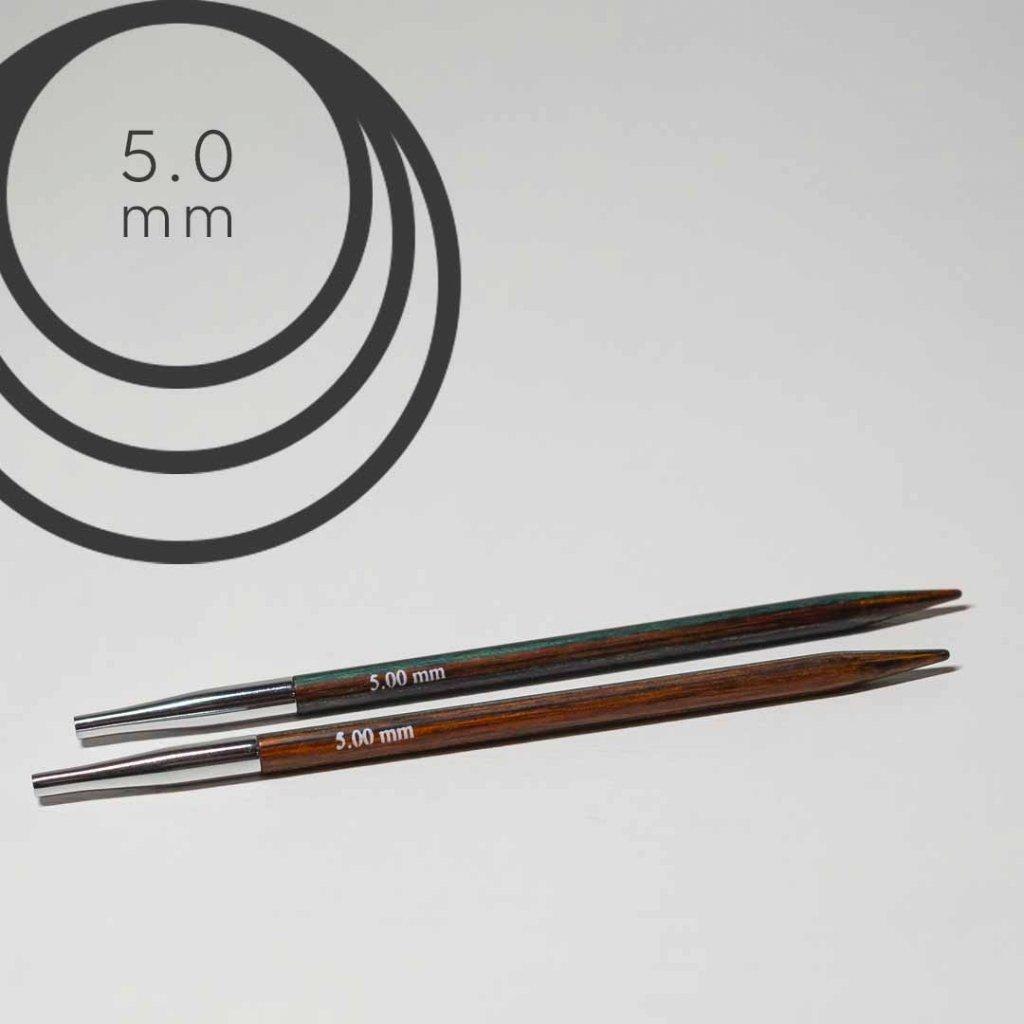 Jehlice kruhové 5.0mm