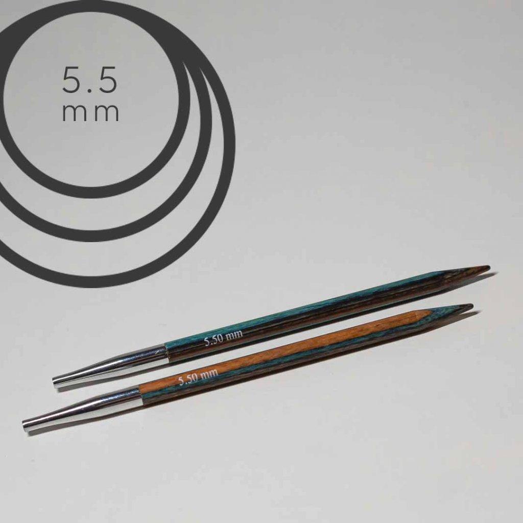 Jehlice kruhové výměnné 5.50 mm