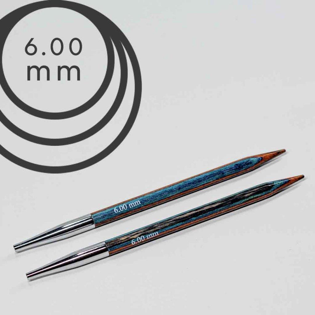 Jehlice kruhové výměnné 6.00 mm