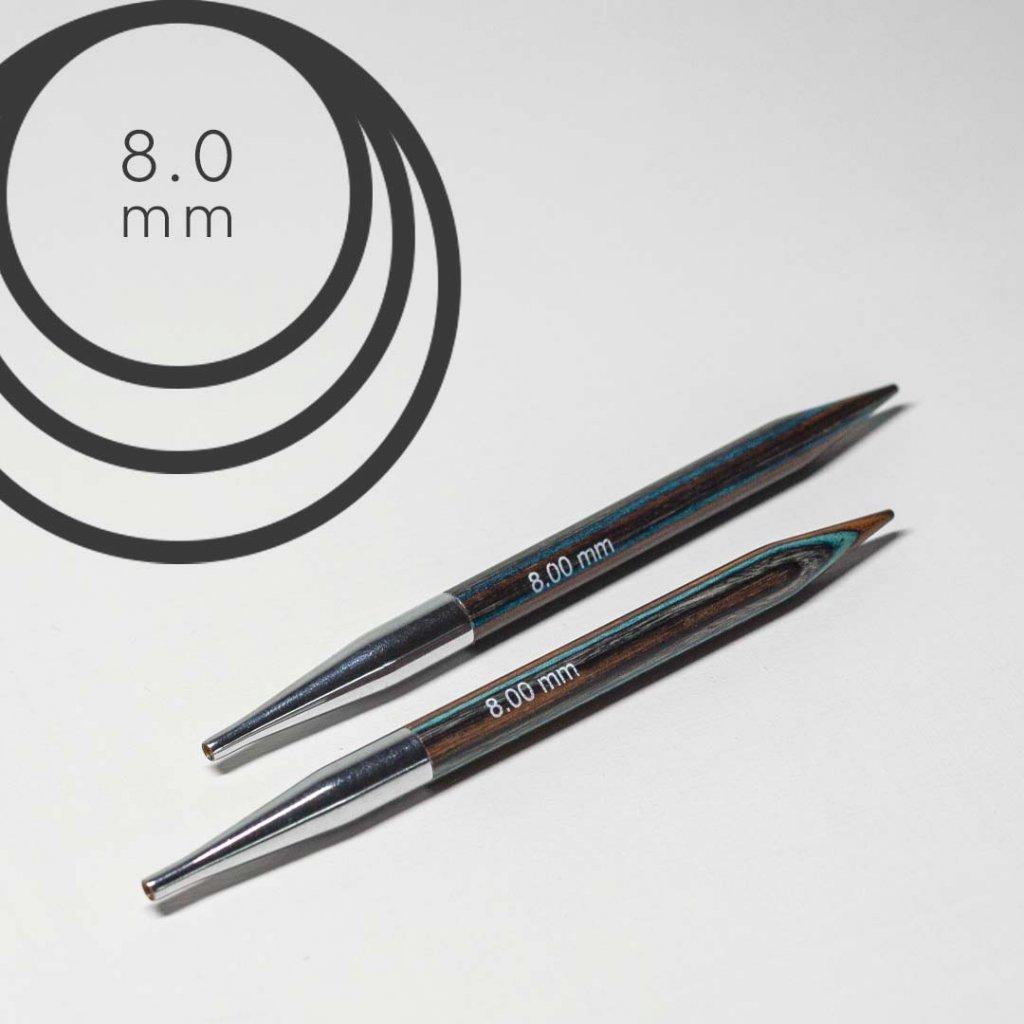 Jehlice kruhové 8mm
