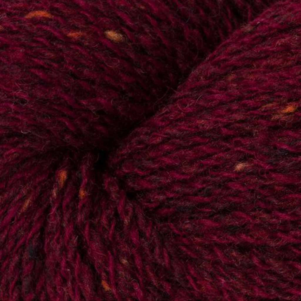 Rowan Valley tweed vínová